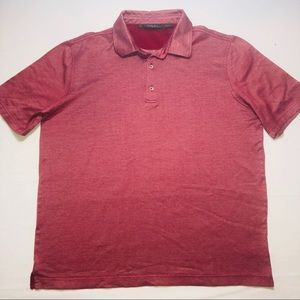 Bobby Jones Mens Golf Polo Red L